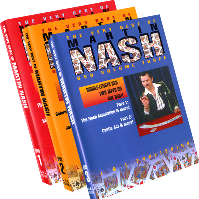 Very Best of Martin Nash Vol 1-3 (im Set )