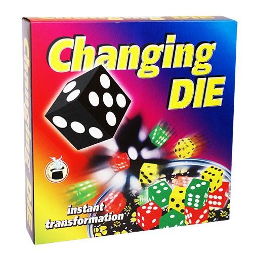 Changing Die - der Wunder Würfel bei Zaubershop-Frenchdrop