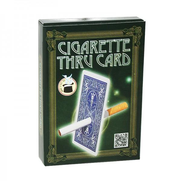 Zigarette durch Karte - Zaubershop-Frenchdrop