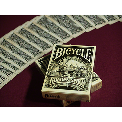 Bicycle Golden Spike Deck by Jody Eklund