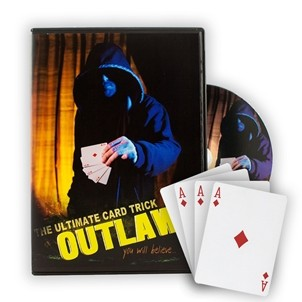 OUTLAW - Bicycle Cards Included With Instructional DVD