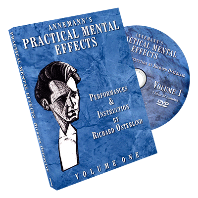Annemann's Practical Mental Effects Vol. 1 by Richard Osterlind
