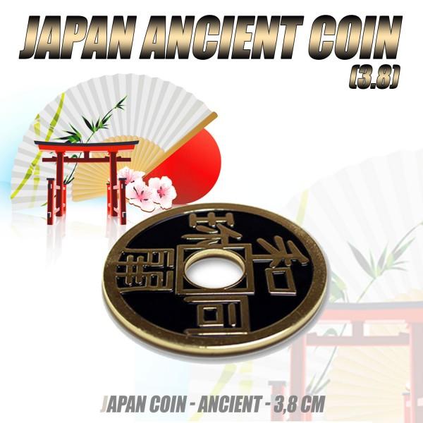 Antike japanische Münze - Japan Ancient Coin - (ca. 3,8 cm)