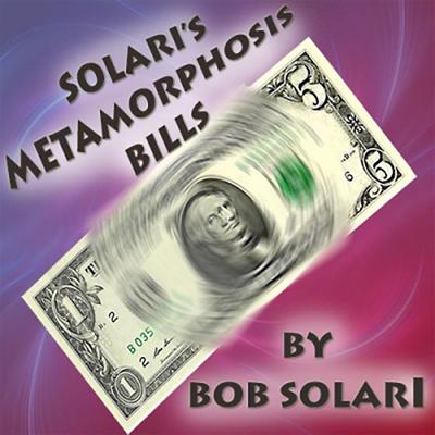 Zaubertrick - Metamorphosis Bill by Bob Solari jetzt bei Zaubershop-Frenchdrop günsig kaufen.
