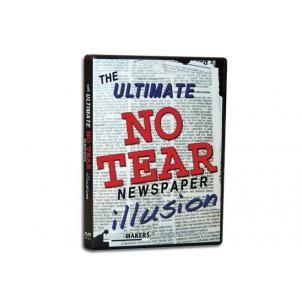 Ultimate No Tear Newspaper Illusion