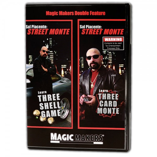 Double Features - Three Shell Game & Three Card Monte | Nussschalenspiel