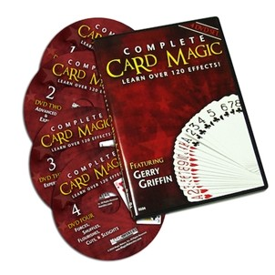 Complete Card Magic - 4 DVD Set