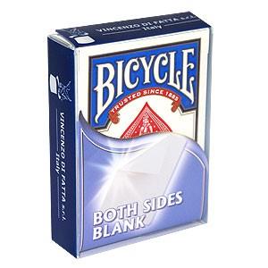 Unbedruckte Spielkarten Bicycle Both Sides Blank