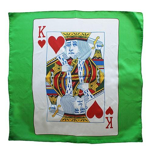 Tuch mit Kartenwert - bei Zaubershop-Frenchdrop