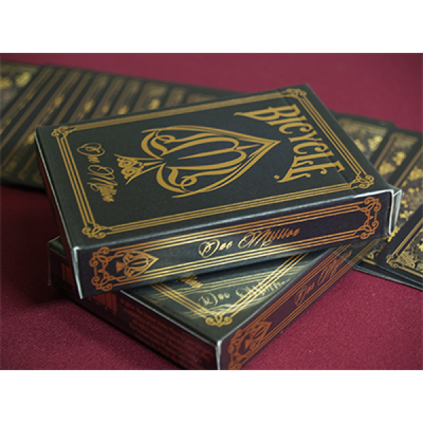 Bicycle One Million Deck black