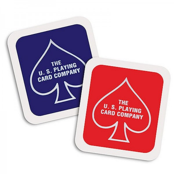 Deck Seal BLUE & RED mixed for Bicycle Cards | Zauberartikel bei Zaubershop-Frenchdrop