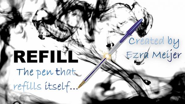 Refill by Ezra Meijer jetzt bei Zaubershop Frenchdrop downloaden