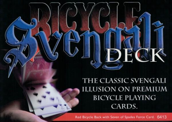 Svengali Deck in Bicycle Spielkarten bei Zaubershop-Frenchdrop