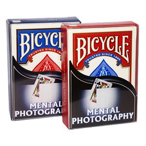 Bicycle - Mental photography Blau | Trickspiel