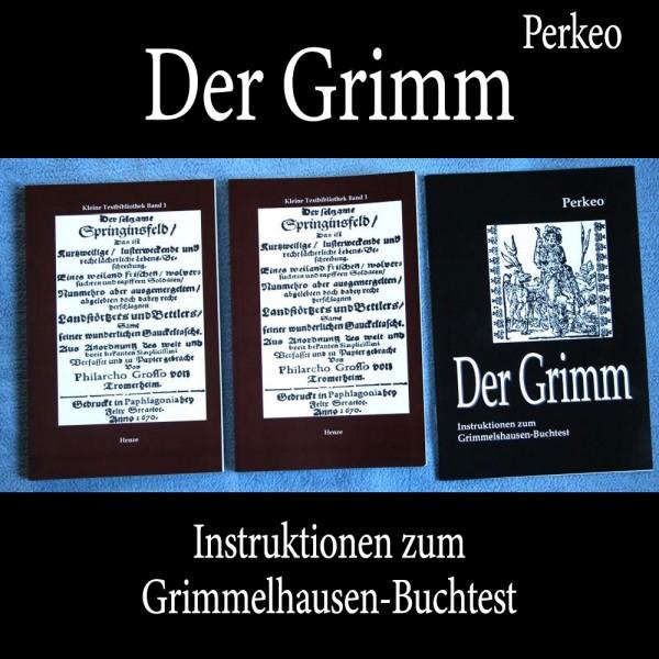 Buchtest - Der Grimm von Perkeo | Zaubershop Frenchdrop