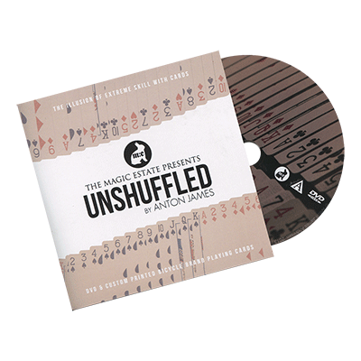 Unshuffled (DVD & Gimmicks) by Anton James