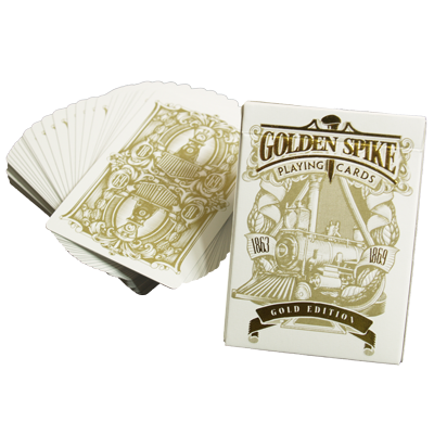 Limited (Gold Edition) 1st Run Golden Spike Deck by Jody Eklund