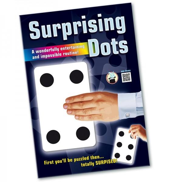 Zaubertrick Surprising dots bei Zaubershop-Frenchdrop