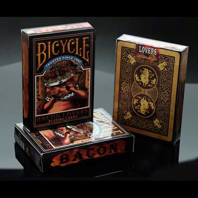 Bicycle Bacon Lovers Spielkarten bei Zaubershop Frenchdrop