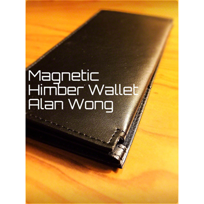 Leather Magnetic Himber Wallet by Alan Wong | Zauberzubehör