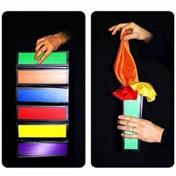 Flip Flap Production - Bunte Seidentücher Produktion inklusive 12 Tücher bei Zaubershop Frenchdrop