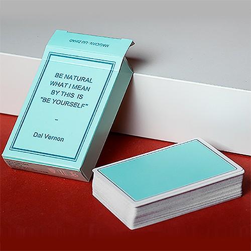 Magic Notebook - Green | Spielkarten