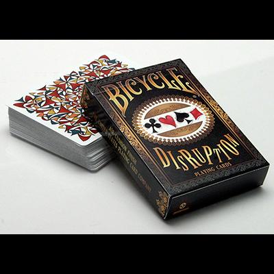 Bicycle Disruption Spielkarten bei Zaubershop Frenchdrop