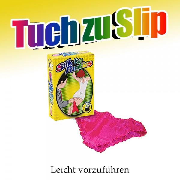 Tuch zu Slip bei Zaubershop-Frenchdrop