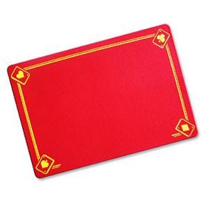VDF Zauberunterlage - Aces - rot - Standard | Zauberzubehör