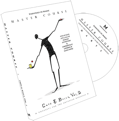 Master Course Cups and Balls Vol. 2 by Daryl