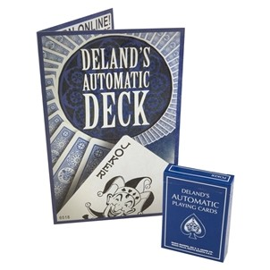 The Automatic Deck Blue (DeLands Marked Deck)