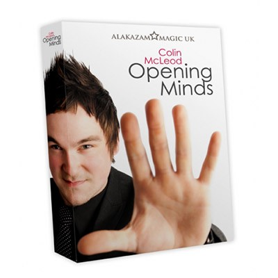 Opening Minds 4 DVD Set by Colin Mcleod and Alakazam Magic