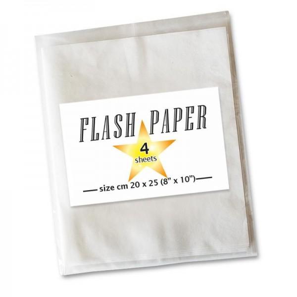Flash Paper Pyropapier bei Zaubershop Frenchdrop
