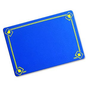 VDF Zauberunterlage - Aces - blau - Standard | Zauberzubehör