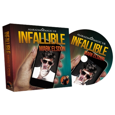 Infallible (DVD and Gimmick) by Mark Elsdon and Alakazam Magic