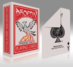 Phoenix - Parlour blanko Rücken Deck - Rot