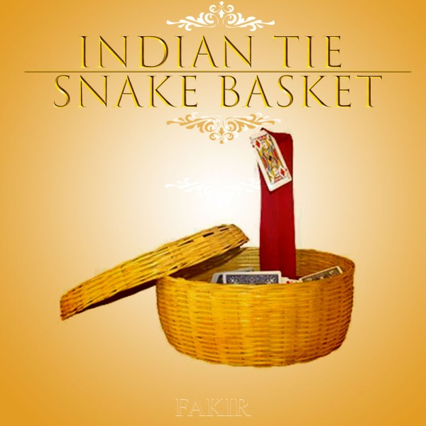 Indian TIE SNAKE BASKET - Zaubershop-Frenchdrop