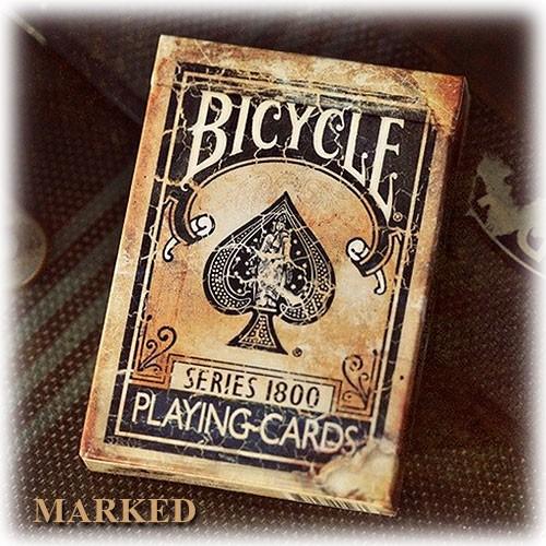 Bicycle - Vintage series 1800 - Blu back - Marked