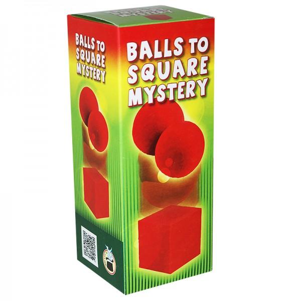 Balls to square Mystery bei Zaubershop-Frenchdrop
