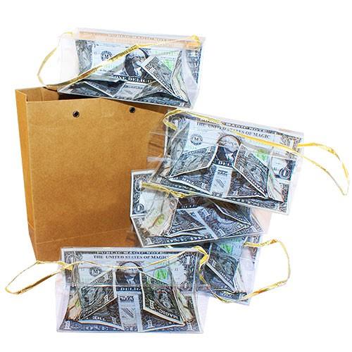 Geldboxen aus leerer Tüte - Bill Boxes From Empty Bag
