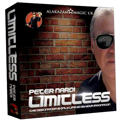 Limitless (7 of Hearts) DVD and Gimmicks by Peter Nardi