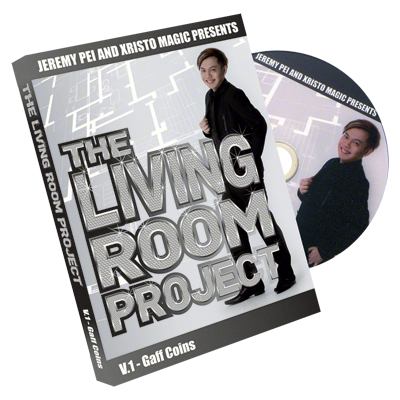 The Living Room Project Vol 1 (Gaff Coins) by Jeremy Pei and Xristo Magic