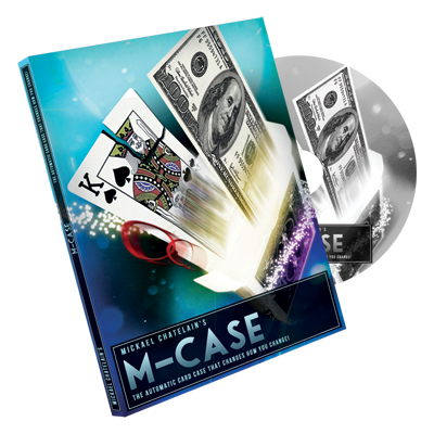 M-Case Red (DVD and Gimmick) by Mickael Chatelain