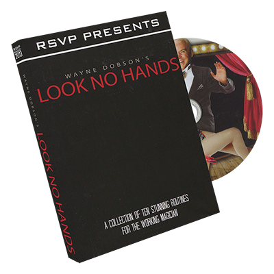 Look No Hands by Wayne Dobson | Zauber DVD