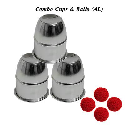 Becherspiel Combo - Combo Cups & Balls (AL) von Premium magic jetzt bei Zaubershop Frenchdrop