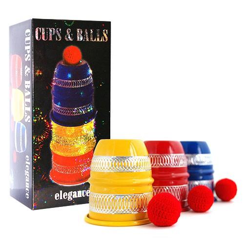 Becherspiel Cups and balls Elegance bei Zaubershop Frenchdrop