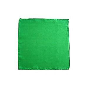 Seidentuch zum Zaubern - grün - 9 in./ca. 20cm