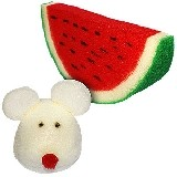 Mouse to watermelon - Maus zu Wassermelone