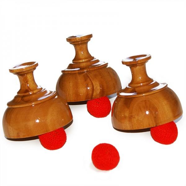 Indian Cups and Balls - Zaubertrick bei Zaubershop Frenchdrop