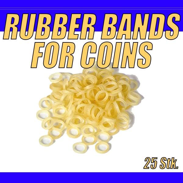 Gummis für Faltmünzen, Flippercoin und andere